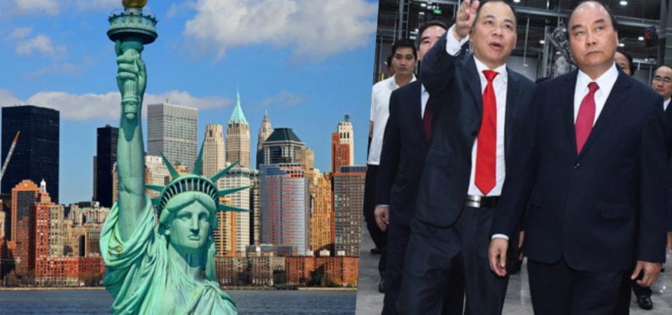 Phạm Nhật Vượng và tham vọng chiếm lĩnh thị trường Mỹ
