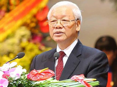 "Canceling ""Táo Quân,"" party chief Nguyen Phu Trong himself plays a comedy at year's end"