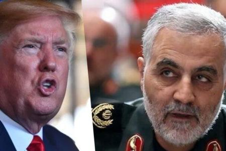"""Tổng thống Trump """"bấm nút"""" – Tướng Iran """"tiêu tùng"""""""