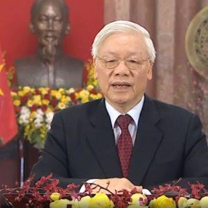 """Thều thào chúc tết – Nguyễn Phú Trọng """"nhại"""" thơ Hồ Chí Minh"""