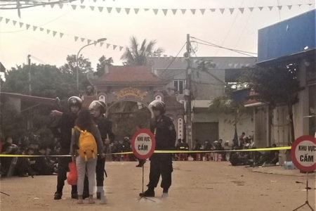 Công bố hình ảnh hiện trường nơi cụ Lê Đình Kình bị sát hại bằng 4 phát súng
