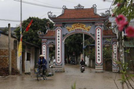 Tôi đã đến được làng Hoành – Đồng tâm.