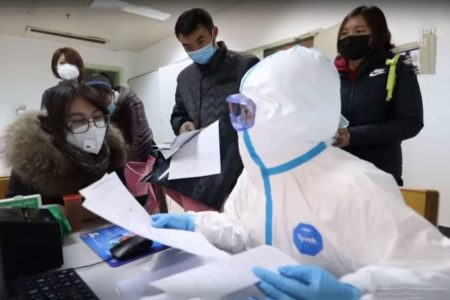 Trung Quốc : Một đế quốc tử chiến với một con virus