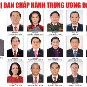 Would Vuong Dinh Hue dare to leave dogma and oppose Nguyen Phu Trong?