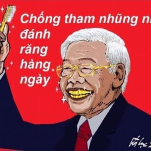 """Putting Party documents into the Temple of Literature – Phu Trong wants to """"save name""""?"""