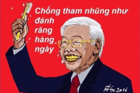 "Putting Party documents into the Temple of Literature – Phu Trong wants to ""save name""?"