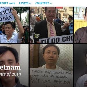 Bộ Ngoại giao Hoa Kỳ mạnh mẽ lên án tình hình nhân quyền tại Việt Nam trong năm 2019