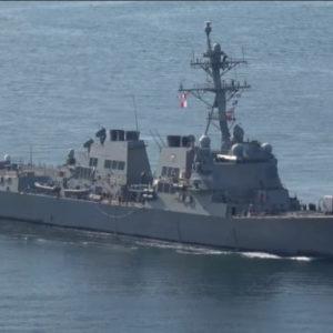 Quân đội Trung quốc nói đã đuổi tàu chiến Mỹ khỏi Hoàng Sa