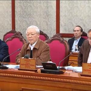 Nguyễn Phú Trọng lần đầu họp về chống cúm Vũ Hán, ca ngợi chế độ 'ưu việt', 'tốt đẹp'