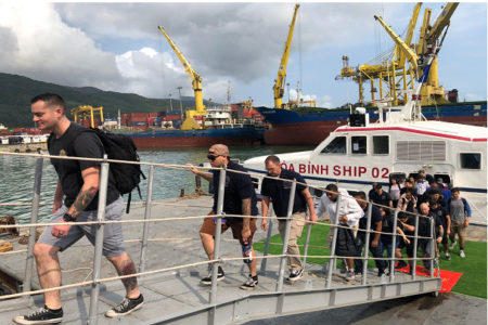 Vietnam speaks out about US sailors infected with Covid-19 after visiting Da Nang