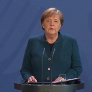 Thủ tướng Đức Angela Merkel và các thủ hiến bang ra Quyết nghị phòng chống virus corona