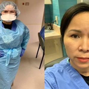 Vietnamese American doctor volunteering in New York told the last minutes of Covid-19 patients