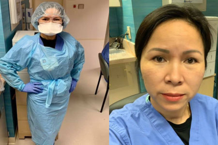 Vietnamese American doctor volunteering in New York told the last minutes of Covid-19 patients