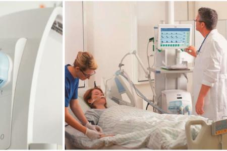 """COVID-19: """"máy trợ thở"""" khác hẳn, không phải là """"máy thở"""""""
