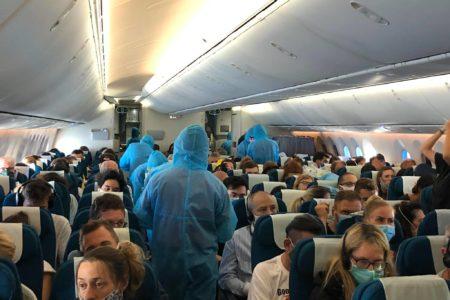 Chuyến bay đầu tiên giải cứu hồi hương công dân Đức mắc kẹt tại Việt Nam