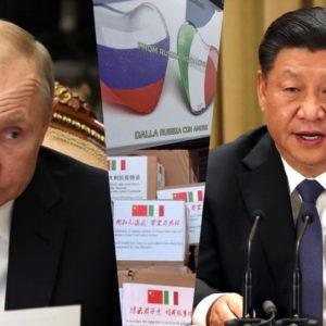 """Trung Quốc và Nga với món quà của """"quỷ đỏ"""""""