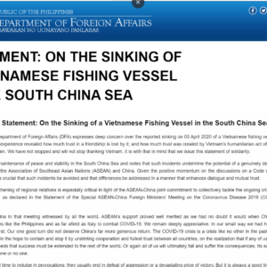 Less Feared of Beijing, Vietnam for first time sends its protest against China to UN