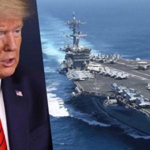 """Tàu sân bay Mỹ vào Việt nam – Trung quốc ra tay hạ """"độc thủ""""?"""