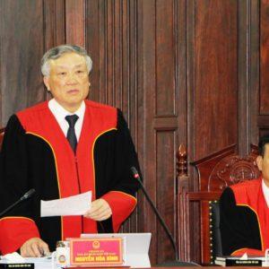 """Cần sớm """" minh oan """" cho Chánh án Nguyễn Hòa Bình ( Ý kiến cán bộ cấp cao tại Hà Nội)"""