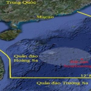 Nhằm Phan Thiết, Hải Dương 8 lao thẳng – Bãi Tư Chính, Tàu nước lạ tiến vào