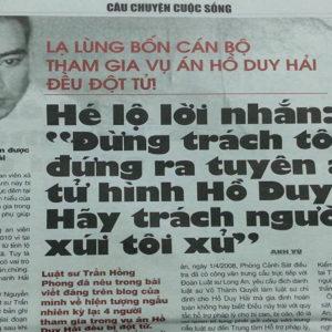 Ho Duy Hai – the case rocking Vietnam's regime