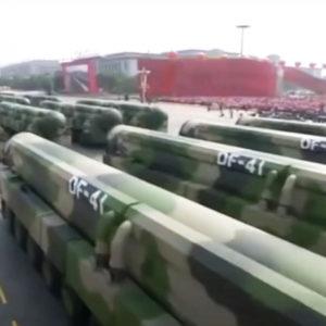 Đảng Cộng sản Trung Quốc hô hào sản xuất 1000 đầu đạn hạt nhân để đối phó Mỹ