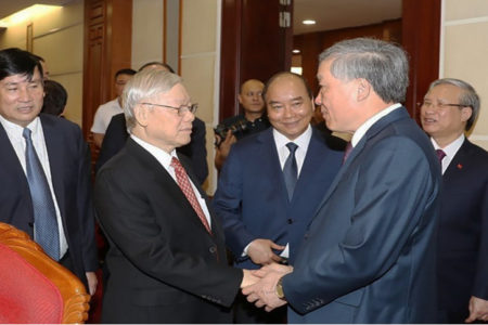 """""""Deadly"""" mistake of Vietnamese Chief of Justice Nguyen Hoa Binh (Communist member's opinion)"""