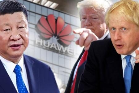 """Mỹ và Anh """"làm thịt"""" Huawei của Trung Quốc"""