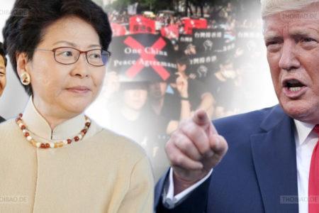 """Mỹ """"trừng phạt"""" Trung Quốc về Luật an ninh Hồng Kông"""
