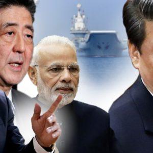 Trung Quốc cùng lúc thôn tính lãnh thổ Việt Nam, gây gổ với Ấn Độ, Nhật Bản