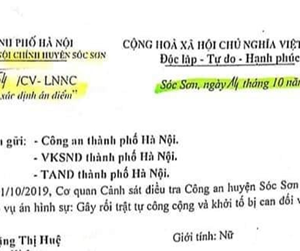"Case of Anti-corruption Activist Hue Nhu clearly reveals ""pocket judgment"""