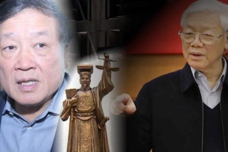 Biểu tượng công lý của Việt Nam: từ 'nhầm lẫn' đến 'phản động'