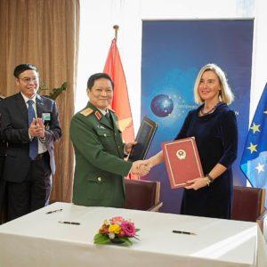 Hiệp định Hợp tác An ninh và Quốc phòng EU – Việt Nam (FPA) bắt đầu có hiệu lực