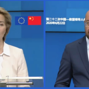 Thương mại, bảo vệ khí hậu, Hồng Kông: Trung Quốc bỏ mặc EU – và thậm chí còn đe dọa tại thượng đỉnh trực tuyến  EU-Trung Quốc