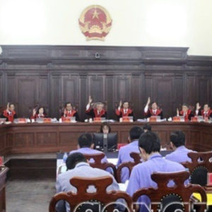 Vietnamese court lost track of social progress?