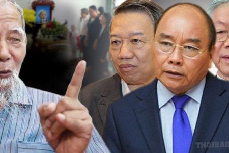 Đồng Tâm: Báo Đảng nói giết cụ Lê Đình Kình là đúng Pháp luật