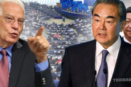 """Châu Âu """"tung đòn"""" đối phó với Trung Quốc"""