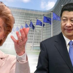 Châu Âu cứng rắn với Trung Quốc