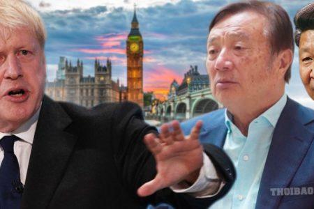 Huawei sắp bị chính phủ Anh miễn cưỡng ép ra đi?