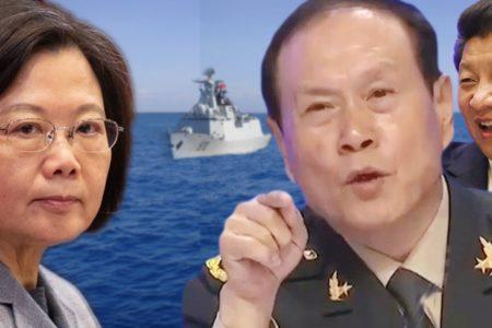Tướng Trung Quốc hùng hổ muốn tấn công Đài Loan