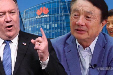 Mỹ công bố: Huawei được quân đội Trung Quốc hậu thuẫn