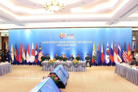 "Vietnamese General Vinh ""concerned"" about the South China Sea at ASEAN Defense Conference"