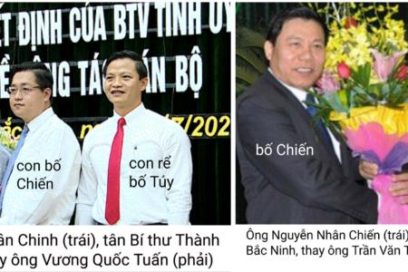 Bài báo của tờ Đại Đoàn Kết về Nguyễn Nhân Chinh, tân Bí thư Thành ủy Bắc Ninh, bị gỡ bỏ