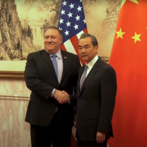 """Wang Yi: Beijing is ready to improve relations with Washington with """"goodwill and sincerity"""""""