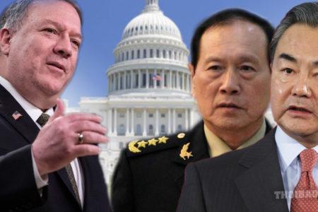 Ngoại trưởng Mỹ kêu gọi cương quyết với 'con quái vật' Trung Quốc