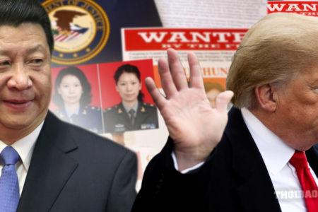 Mỹ ra tay trừng trị Trung Quốc trên mọi mặt trận