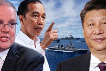"Biển Đông: Úc và Indonesia ""điều quân"" chống Trung Quốc"