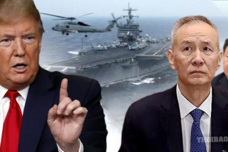 """""""Cuộc chiến"""" Mỹ – Trung tới hồi khốc liệt"""