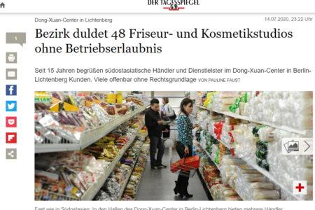 TTTM Đồng Xuân Berlin: 48 tiệm làm tóc và làm đẹp đối diện nguy cơ bị đóng cửa