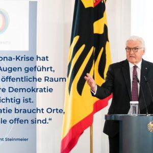 """Tổng thống Đức Steinmeier muốn có một """"kháng thể dân chủ"""""""